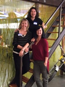 Vancouver BC Stagers: Tamara MacDonald, Sally Weatherly, Joanne Castilloux