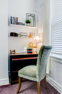 Desk Nook After