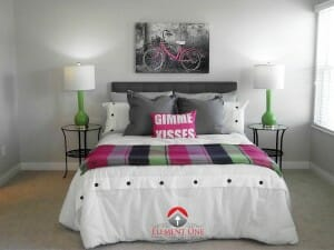 Staged by Lori Murphy, Element One Home Staging