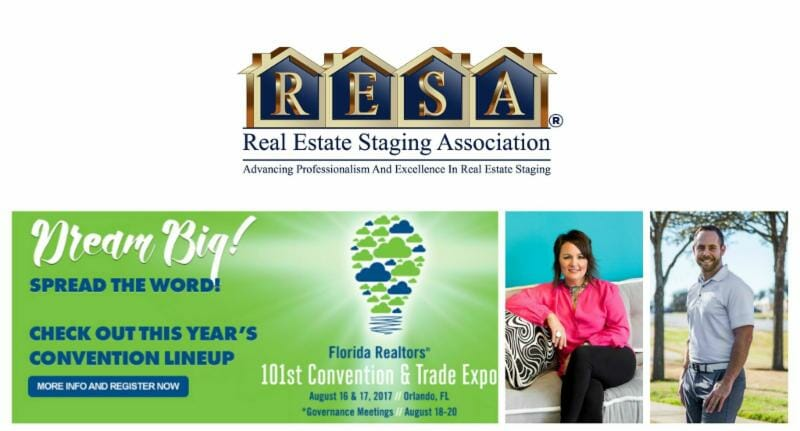 resa attending the florida realtors expo. Black Bedroom Furniture Sets. Home Design Ideas