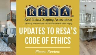 Updates To RESA's Code Of Ethics